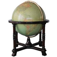 Vintage Replogle 32 Inch Library Globe