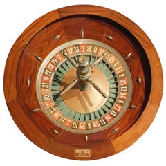 Caro Paris Casino Roulette Wheel, 1960