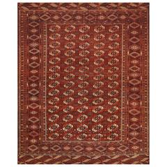 Early 20th Century Bukhara Rug from Russia
