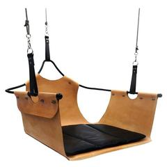 Equus Swing, Leather and Steel