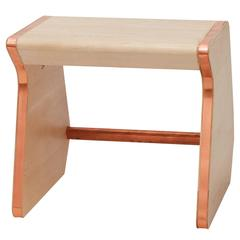 'Perch' Child Chair from the Heritage Collection by Studiokinder in Maple/Copper