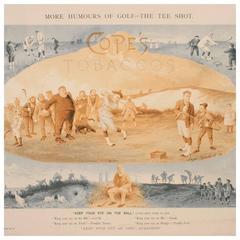 Antique Golf Print, Tom Morris of St Andrews, J. Balfour.