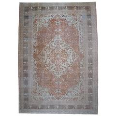 Fantastic Antique Oversize Tabriz Carpet