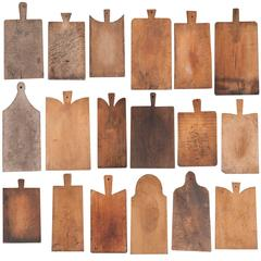 Assortment of 19th Century French Bread Boards