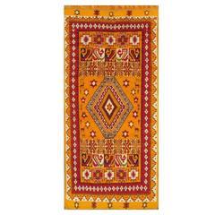 19th Century Orange/Red Moroccan Carpet