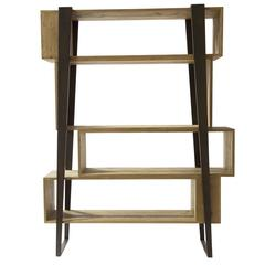 Sophisticated 'Boom' Bookcase with an Unique Structure