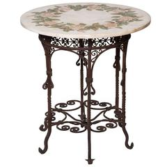 Rose Rosa Marble Table