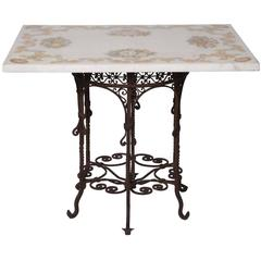 Pitti Marble Inlay Table