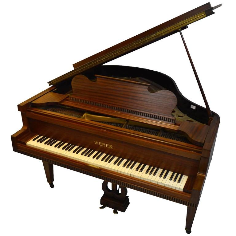 Weber Baby Grand Piano in Regency Style For Sale