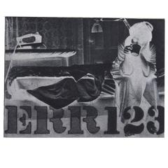 Robert Indiana 'Err 123'  Framed Etching and Photogravure