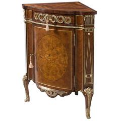 Mother-of-Pearl Inlaid Corner Cabinet