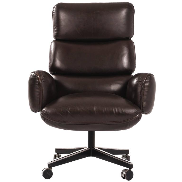 Otto Zapf Executive Chair For Sale At 1stdibs