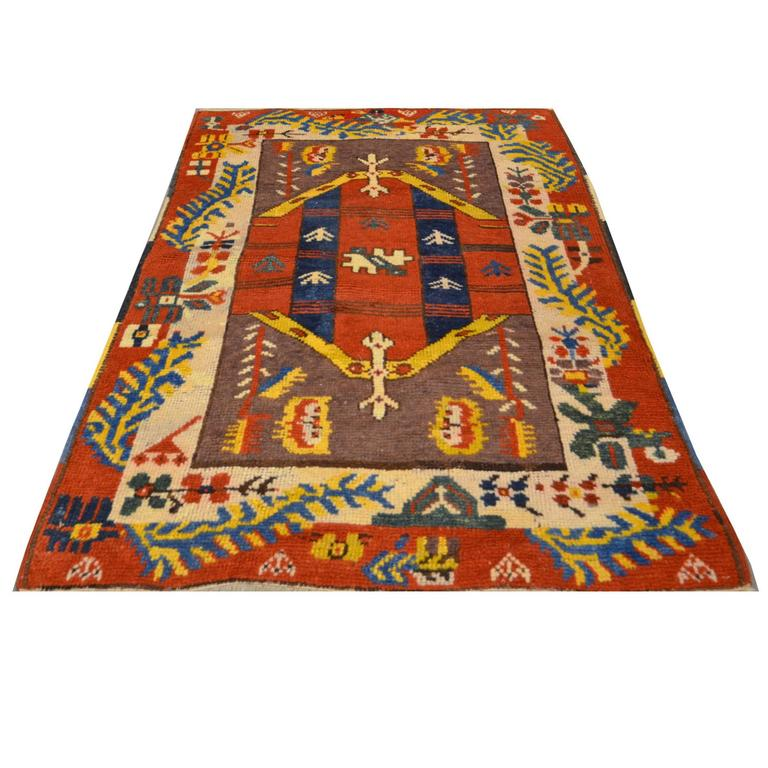 Armenian Antique Rugs: Antique Anatolia Rug, Circa 1920 For Sale At 1stdibs