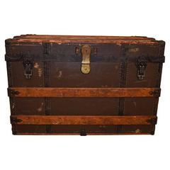 Initialled Crouch & Fitzgerald Trunk, circa 1890