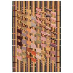 Very Rare African Style Kilim Rug
