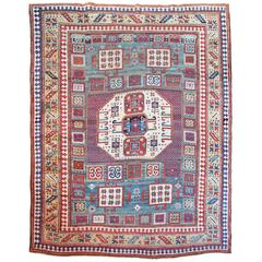 Antique Karachov Kazak Rug