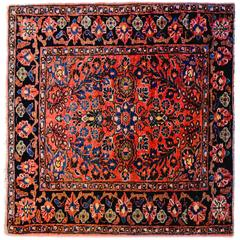 Exceptional Early 20th Century Petite Sarouk Rug