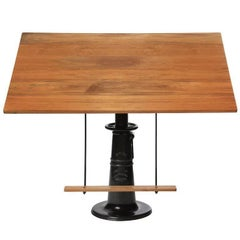 'Hi-Low' Brass Drafting Table