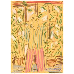 'In the Greenhouse' Original Artwork