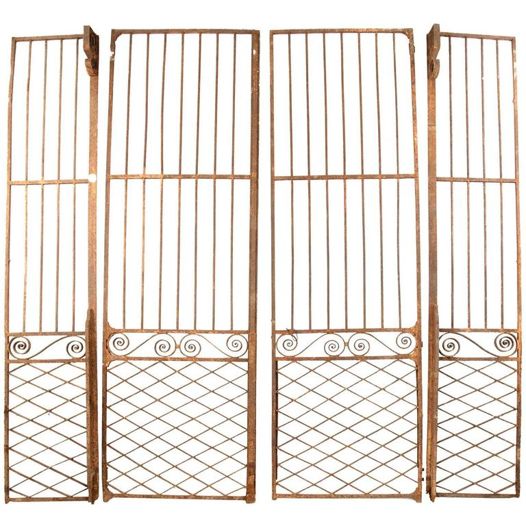 Set of 18th Century French Wrought Iron Gates