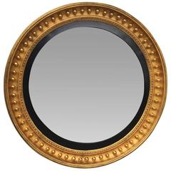 English Convex Mirror, circa 1820