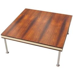 Square Rosewood Coffee Table by Finn Juhl for France & Son