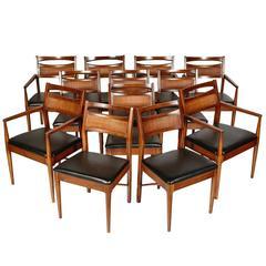 American Of Martinsville Danish Modern Style Dining Room Set