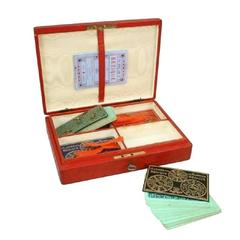 Bezique Card Game Set by Goodall & Son