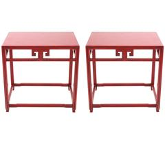 Michael Taylor Side Tables