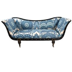 Hollywood Regency Style Sofa