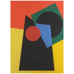 Abstract Composition by Etienne Beothy, 1929-1946