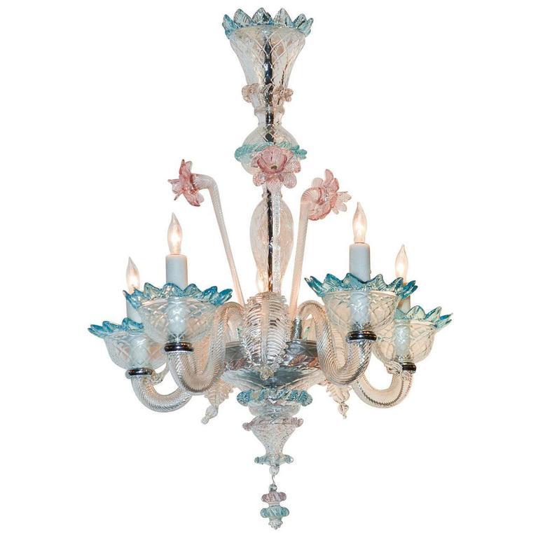 Antique multi color venetian chandelier for sale at 1stdibs antique multi color venetian chandelier for sale aloadofball Gallery