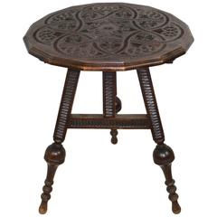 Dutch Tilt-Top Table, circa 1880