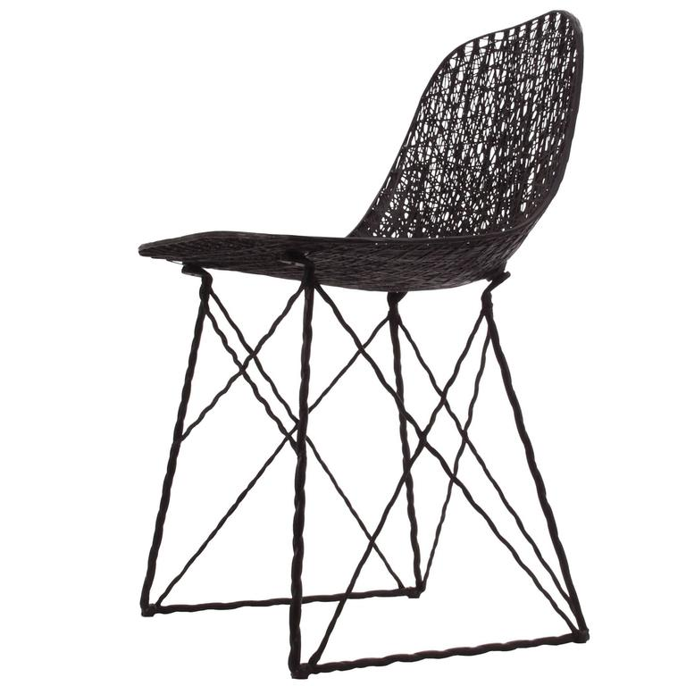 Moooi Carbon Fiber Dining Chair For Sale