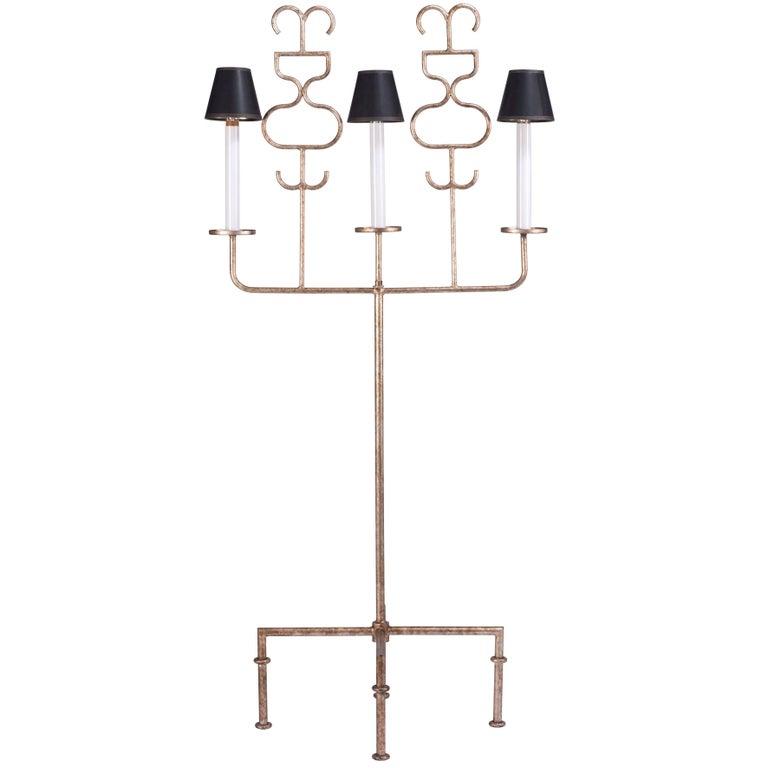 Tommi Parzinger Floor Lamp for Parzinger Originals For Sale