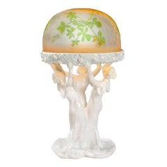 Emile Gallé Lamp, Celebration of Spring