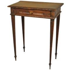 French 19th Century Louis XVI Style Side Table or End Table