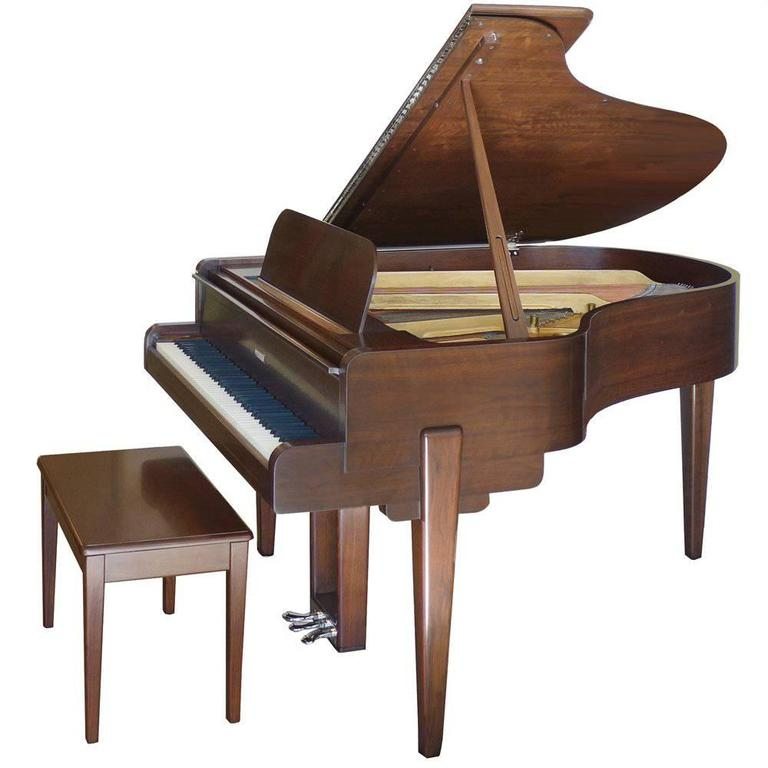 Streamline Moderne Steinway Piano by Walter Darwin Teague 1