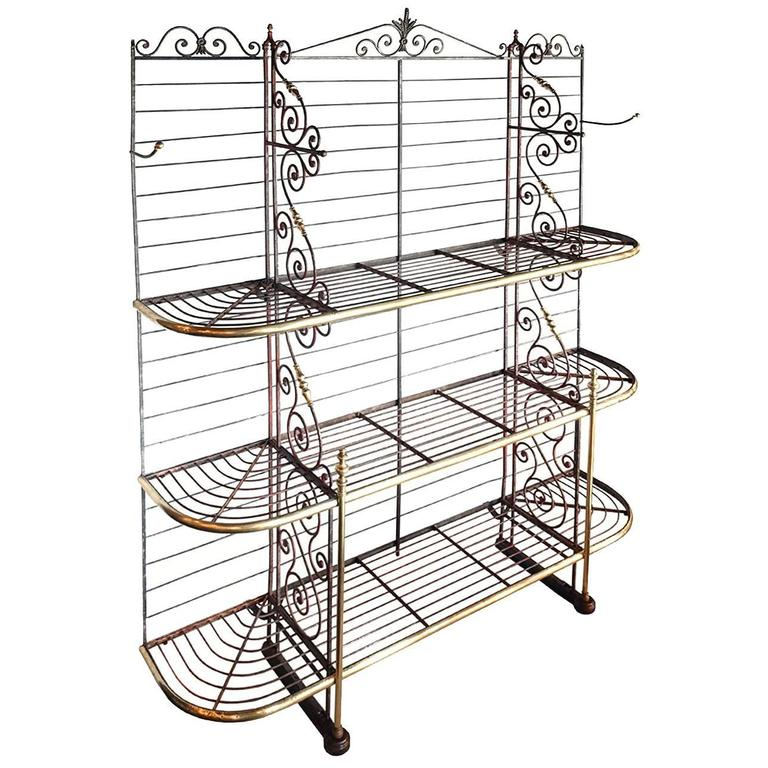Large Classic French Bakers Rack 1