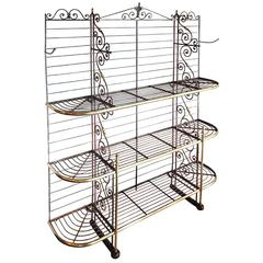 Large Classic French Bakers Rack