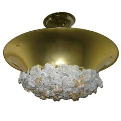 Set of Four Murano Light Fixtures, Sold Individually