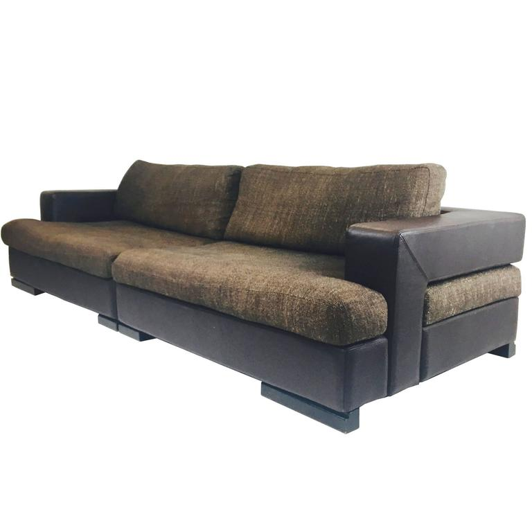 Roche Bobois Two-Piece Sectional Sofa 1  sc 1 st  1stDibs : roche bobois sectional sofa - Sectionals, Sofas & Couches