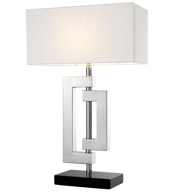 Folding Parts Table Lamp In Polished Stainless Steel For Sale At Stdibs - Stainless steel table parts
