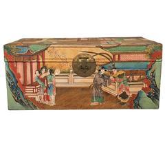 Vintage Chinese Wedding Trunk