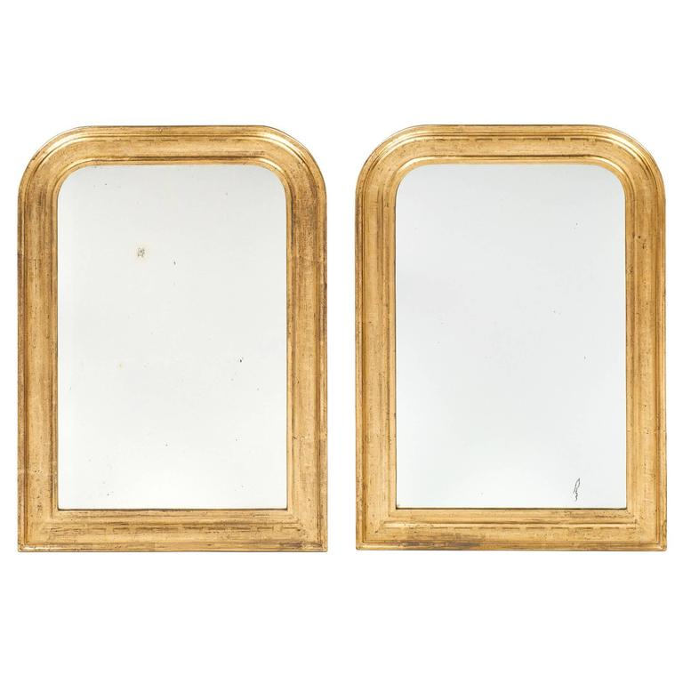 19th Century French Louis Philippe Mirrors