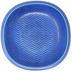 "Nils Thorsson ""Marselis"" Series Porcelain Low Bowl for Royal Copenhagen"