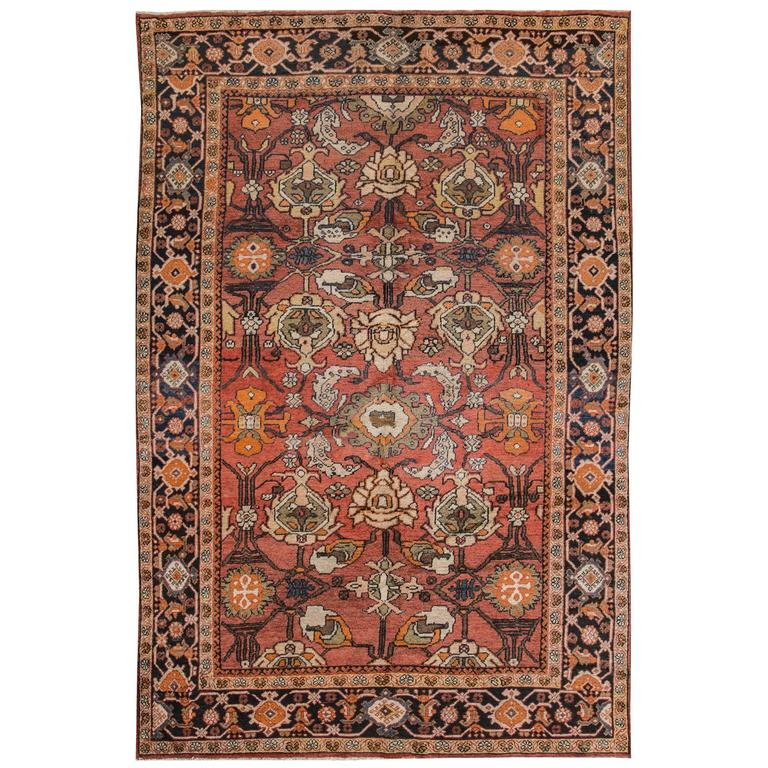 nice looking persian mahal rug for sale at 1stdibs
