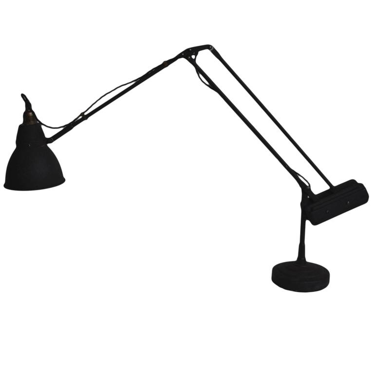 Rare Early 20thC counterbalance Lamp