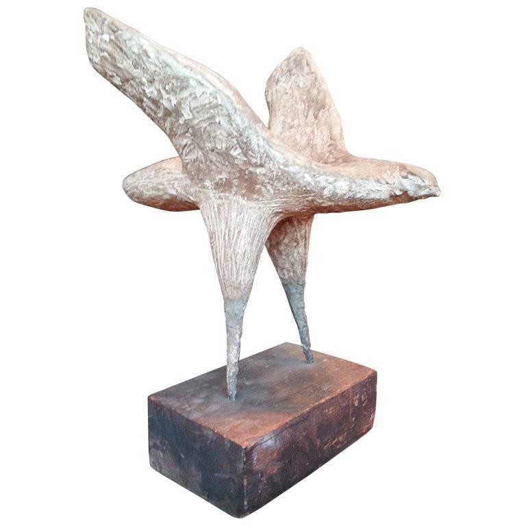 Bird of Prey Sculpture