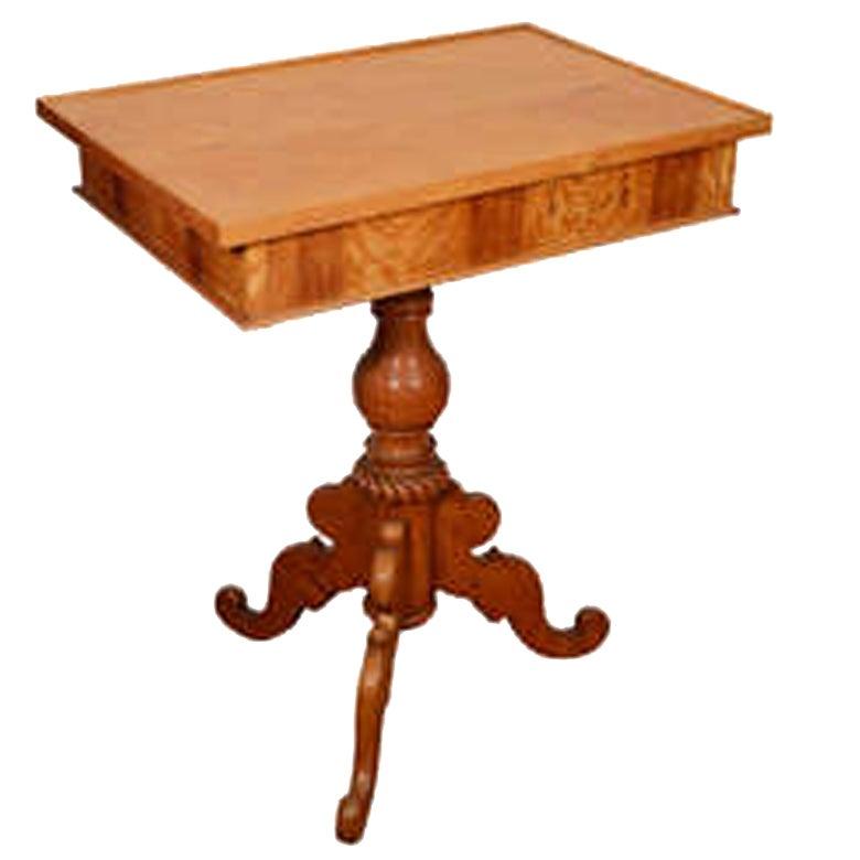 Birch Biedermeier Occasional Table